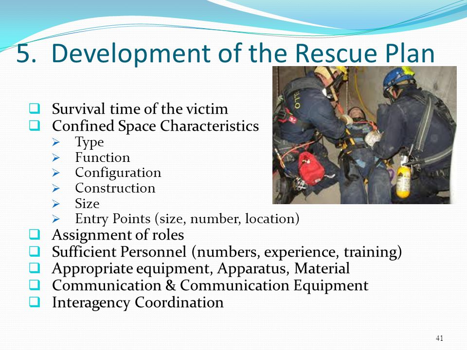 Confined Space Rescue Awareness - ppt video online download
