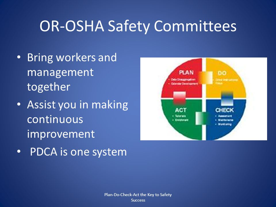 OR-OSHA Safety Committees