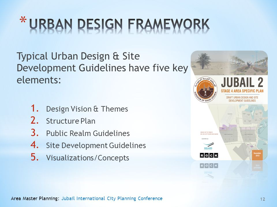 URBAN DESIGN FRAMEWORK