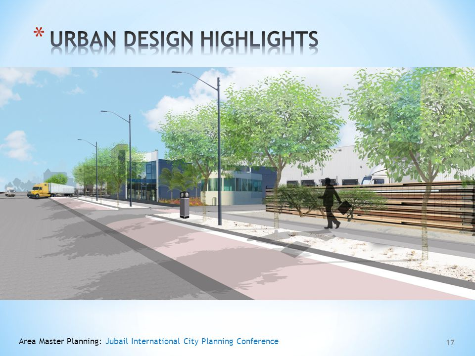 Urban design highlights