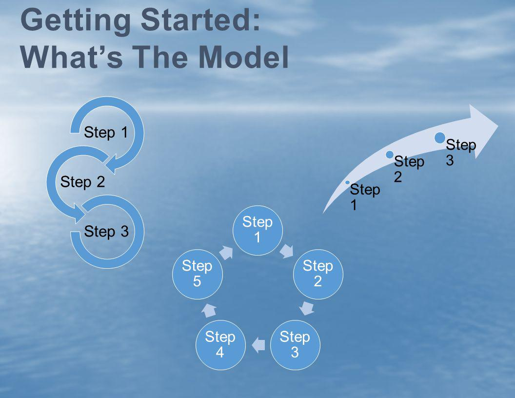 Getting Started: What's The Model