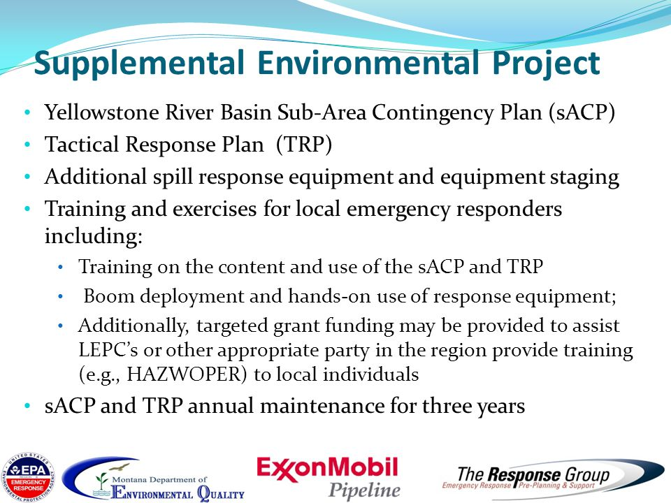 Supplemental Environmental Project