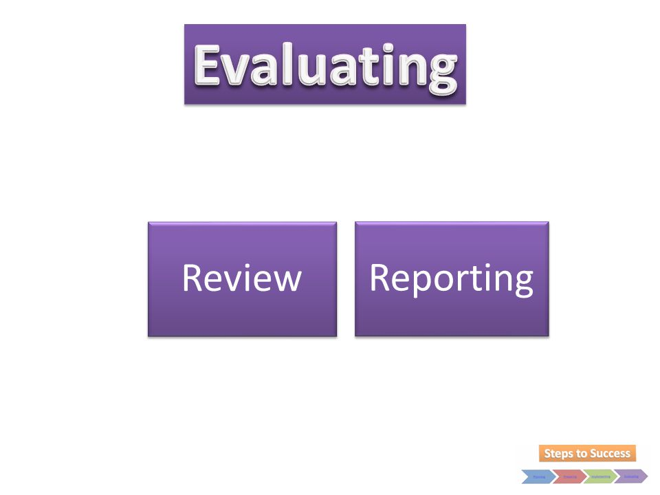 Evaluating Review Reporting