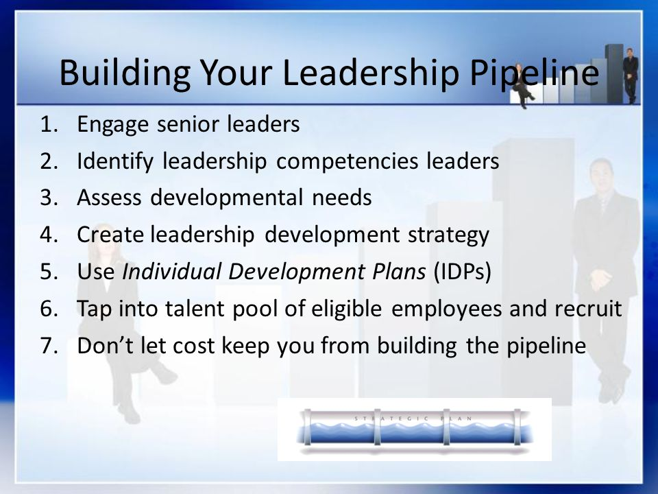 Building Your Leadership Pipeline