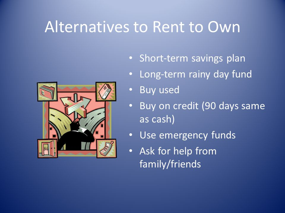 Alternatives to Rent to Own