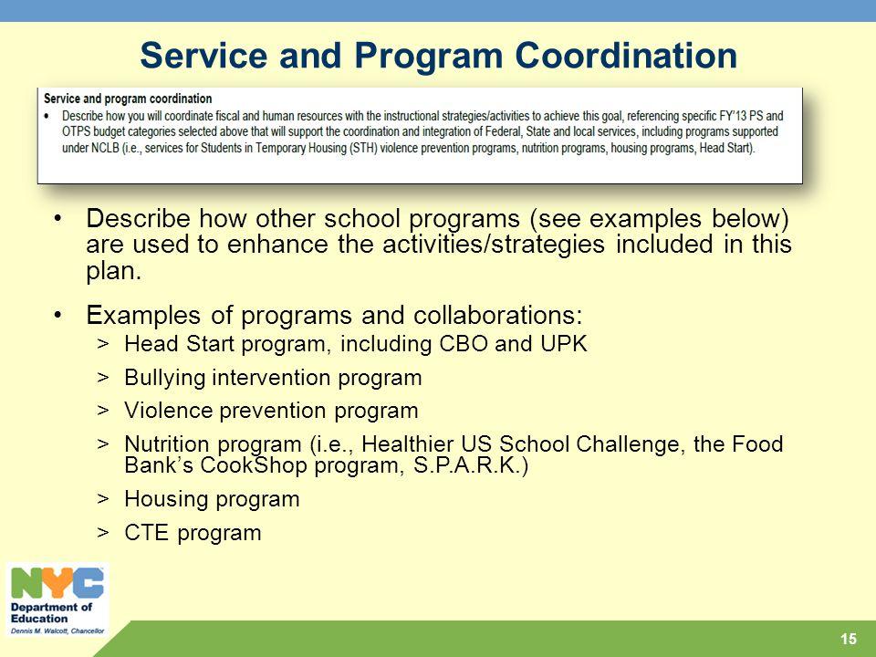 Comprehensive educational plan ppt download service and program coordination fandeluxe Images