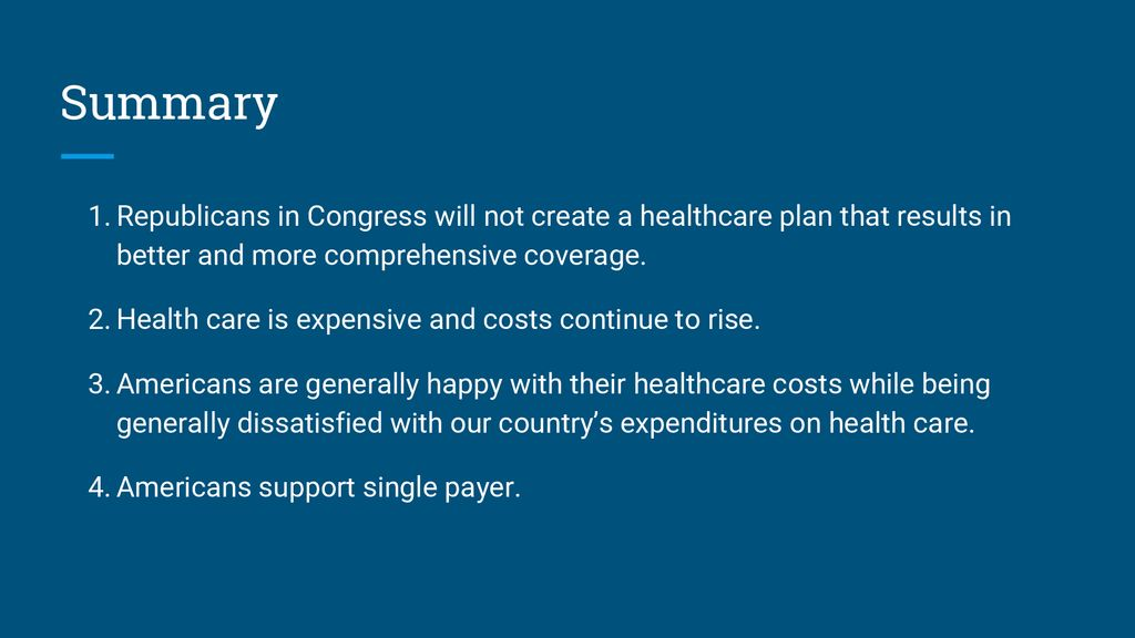 Single Payer In The Era Of Defending The Aca Ppt Download