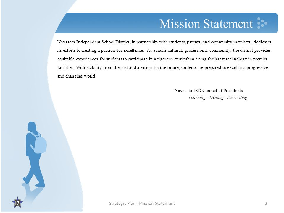 Strategic Plan - Mission Statement