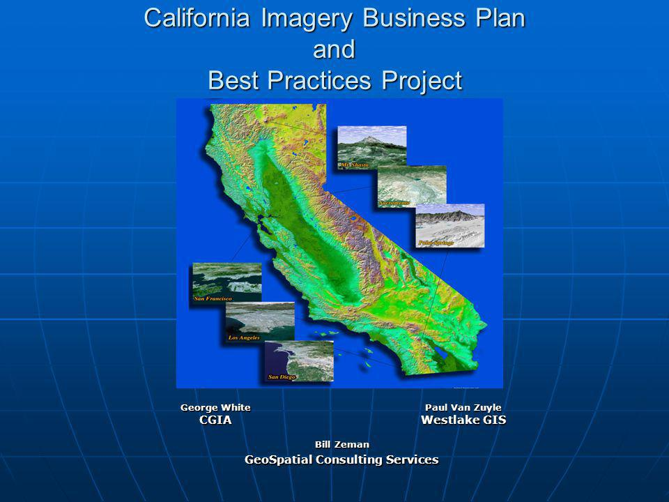 California Imagery Business Plan and Best Practices Project
