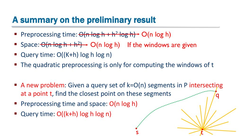 Quickest Visibility Queries in Polygonal Domains - ppt download