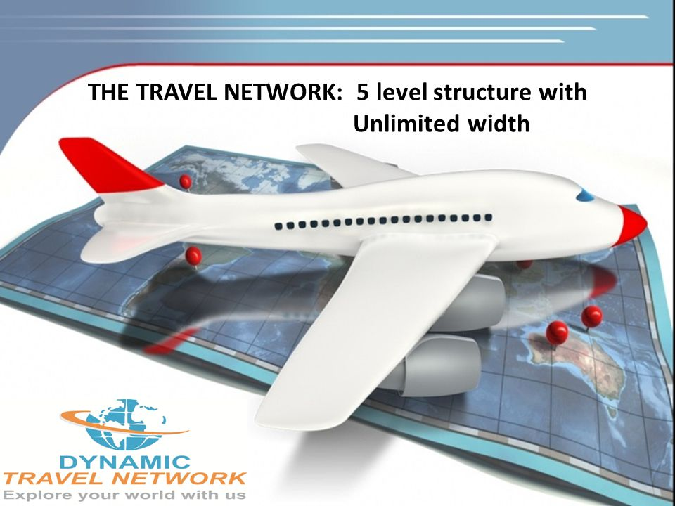 THE TRAVEL NETWORK: 5 level structure with Unlimited width