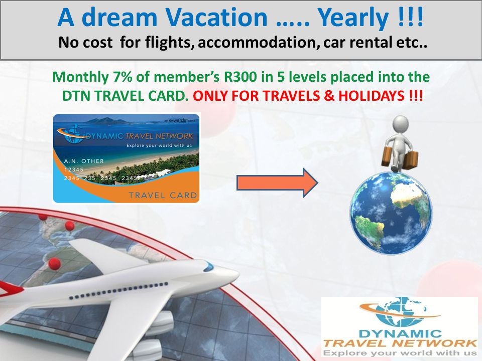 A dream Vacation …. Yearly