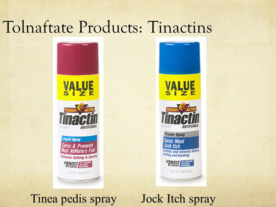 Tolnaftate Products: Tinactins