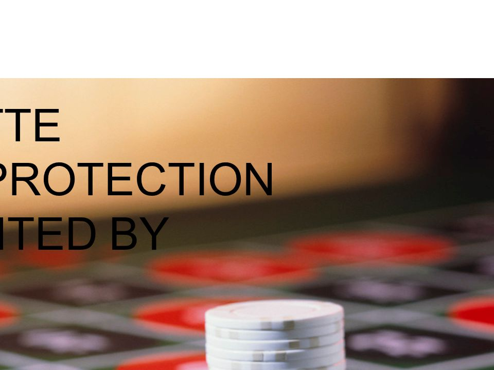 ROULETTE GAME PROTECTION PRESENTED BY RON BUONO