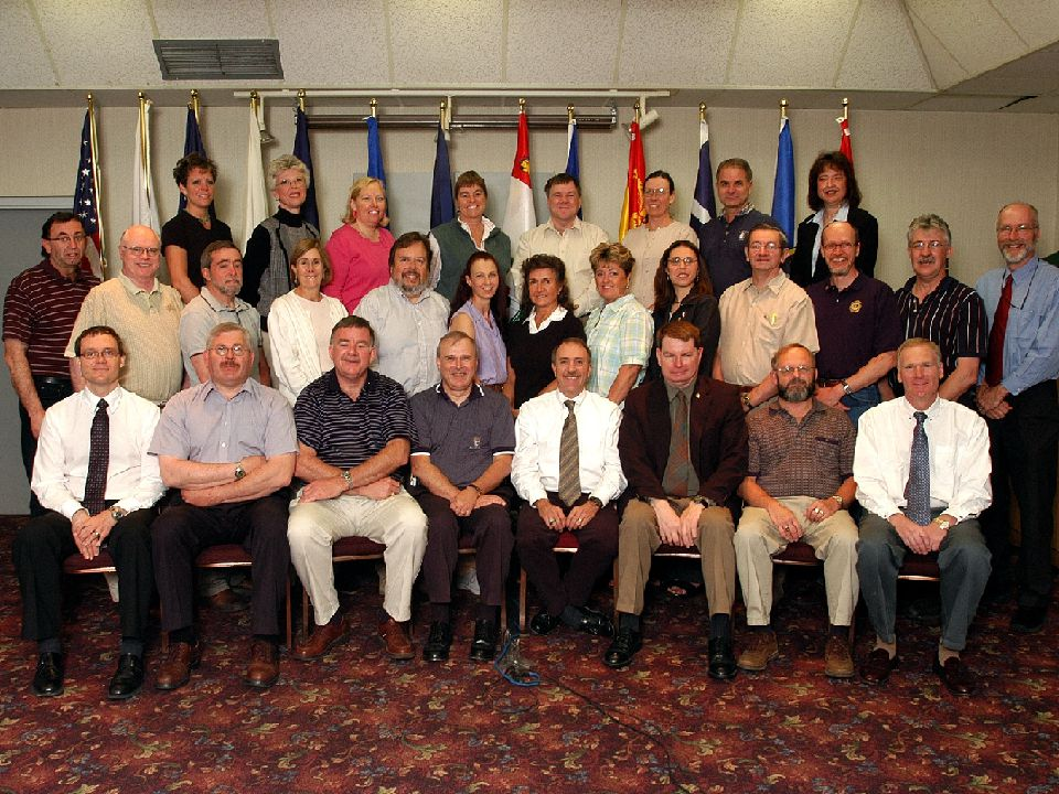 History can be a little boring to some so I found this earliest group picture from the June 2004 meeting in PEI.