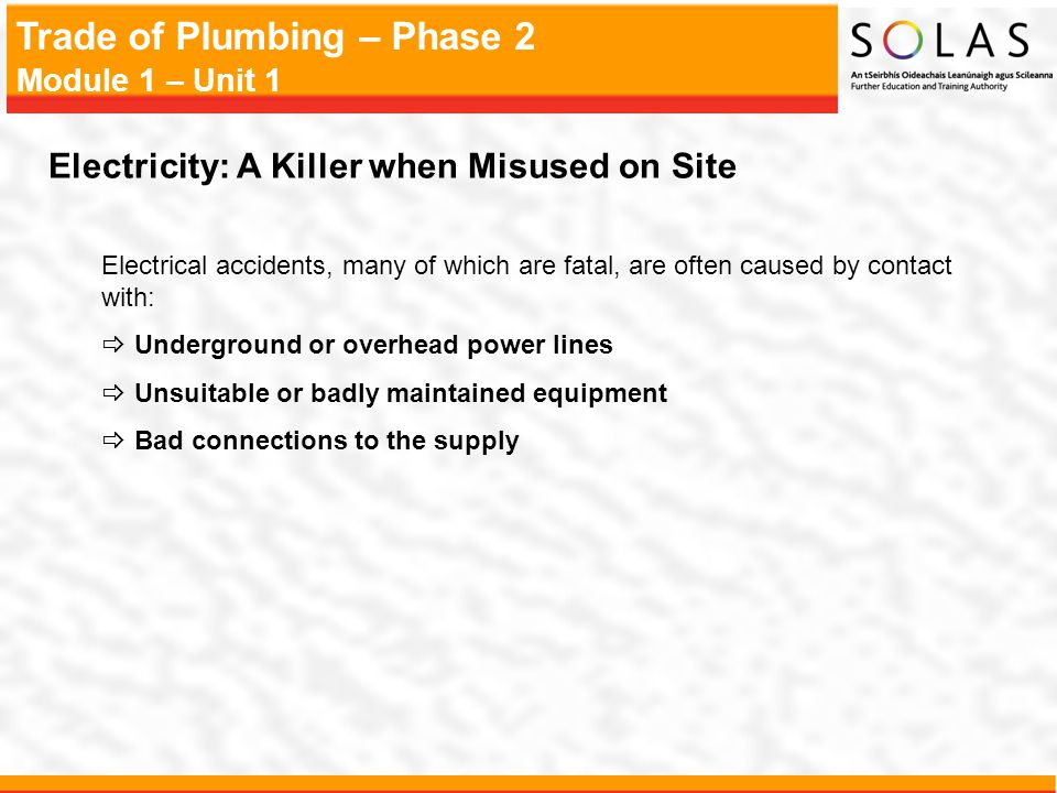 Electricity: A Killer when Misused on Site