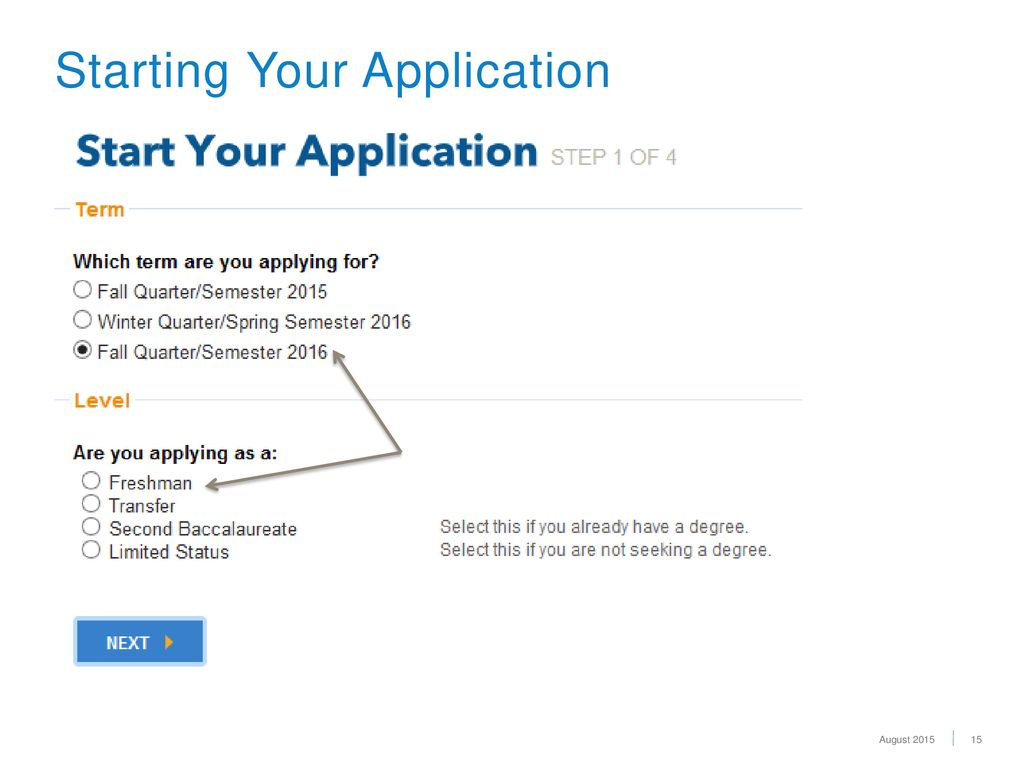 15 Starting Your Application