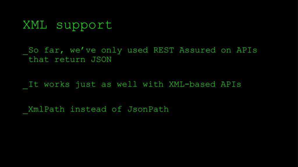 RESTful API testing met REST Assured - ppt download