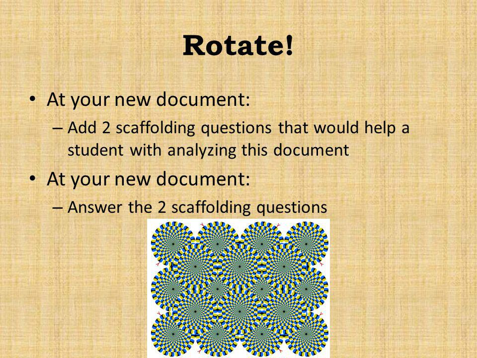 Rotate! At your new document: