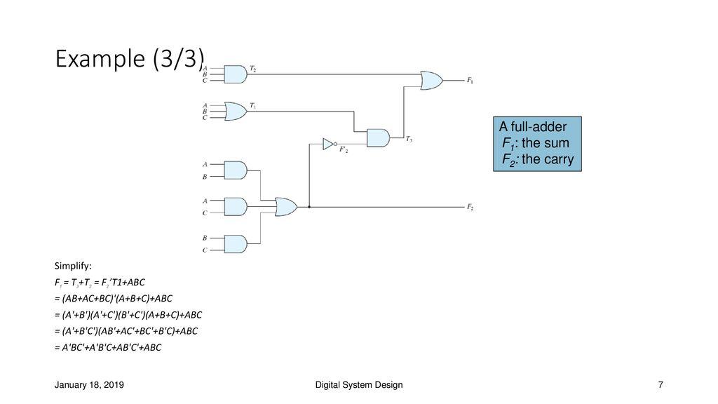 Bc Ab C Abc Cout A Bc Ab C Abc Abc Full Adder Circuit ... A B C Circuit Diagram on