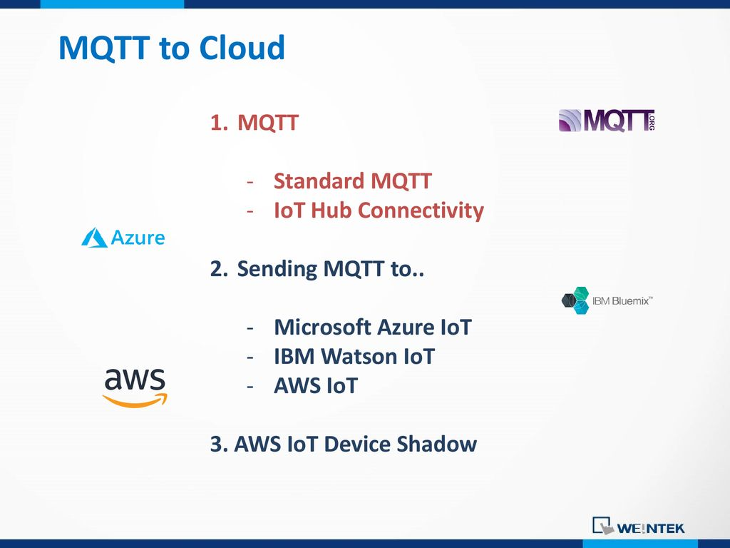 Cloud Data Centering -MQTT to Cloud - ppt download