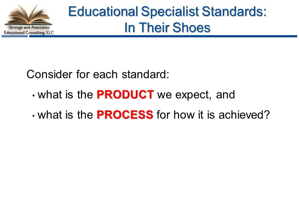Educational Specialist Standards: