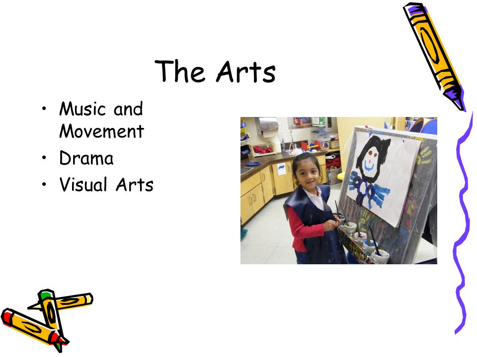 The Arts Music and Movement Drama Visual Arts