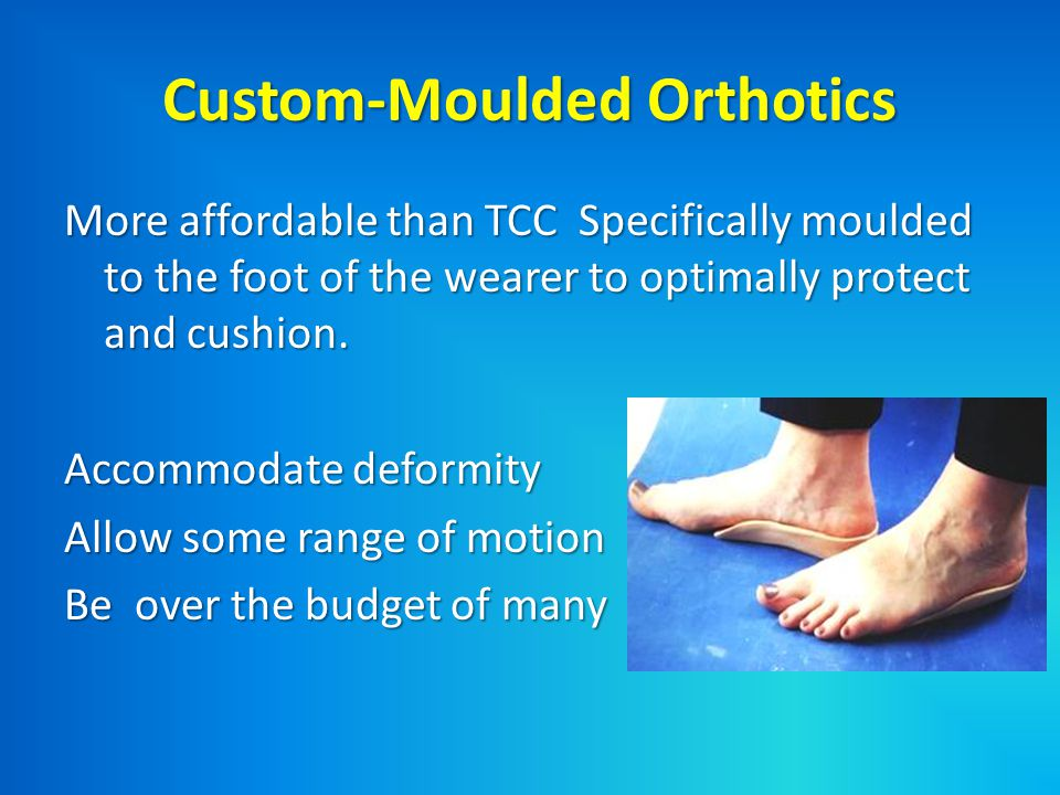 Custom-Moulded Orthotics