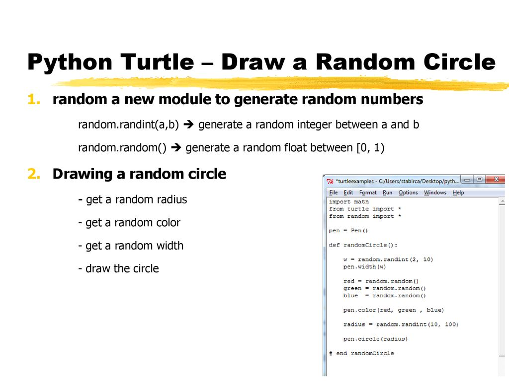Main Points: - Python Turtle - Fractals - ppt download