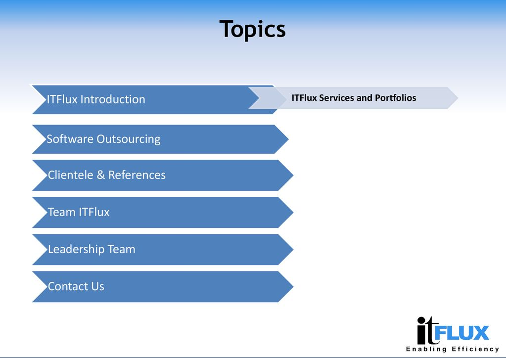 ITFlux Technologies Private Limited - ppt download