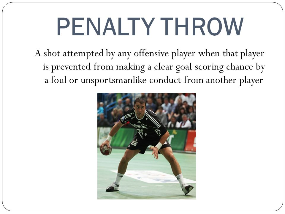 PENALTY THROW