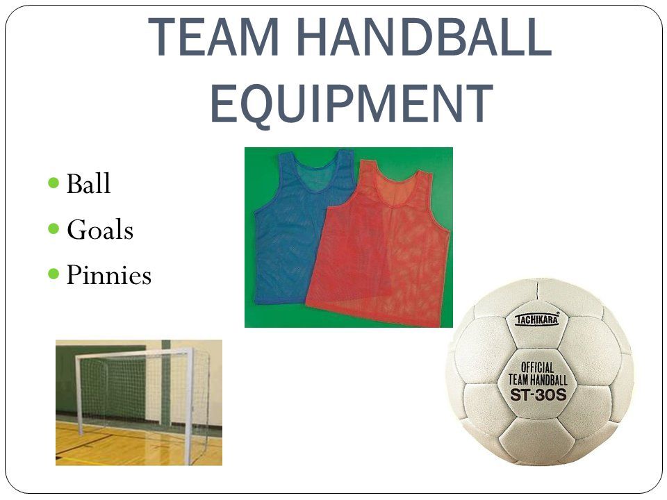 TEAM HANDBALL EQUIPMENT