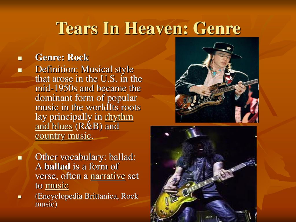 Tears in Heaven By Eric Clapton - ppt download