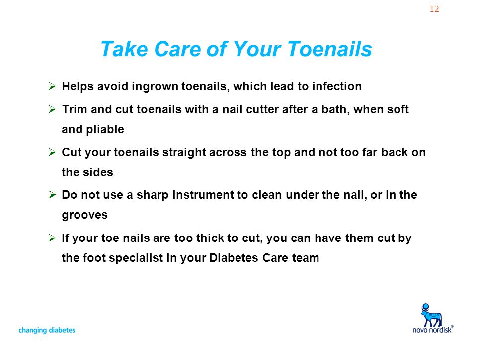 Take Care of Your Toenails