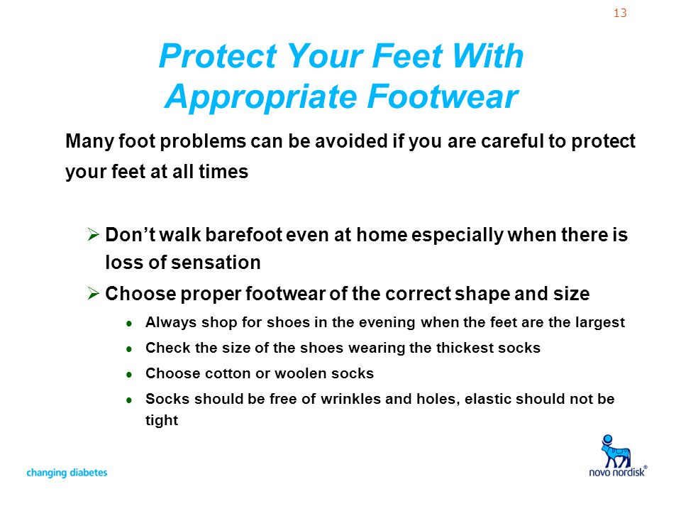 Protect Your Feet With Appropriate Footwear