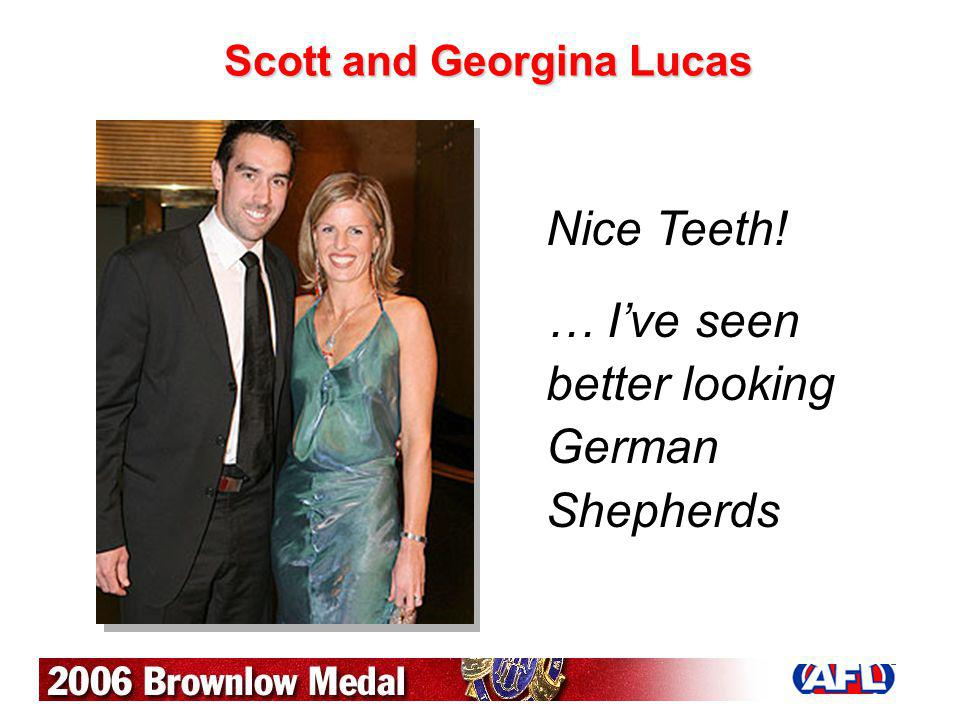 Scott and Georgina Lucas