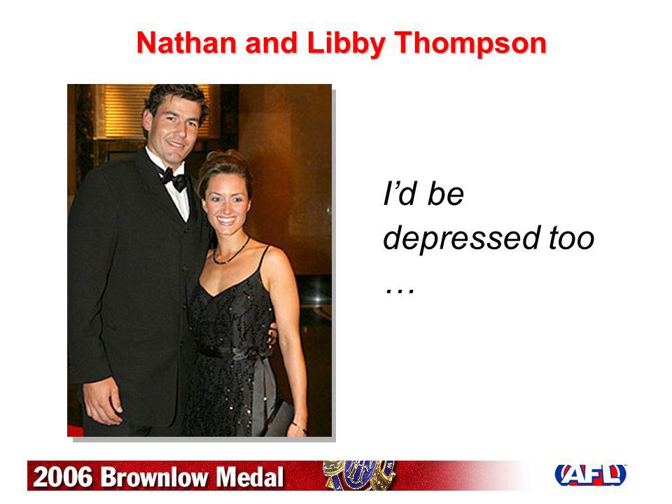 Nathan and Libby Thompson
