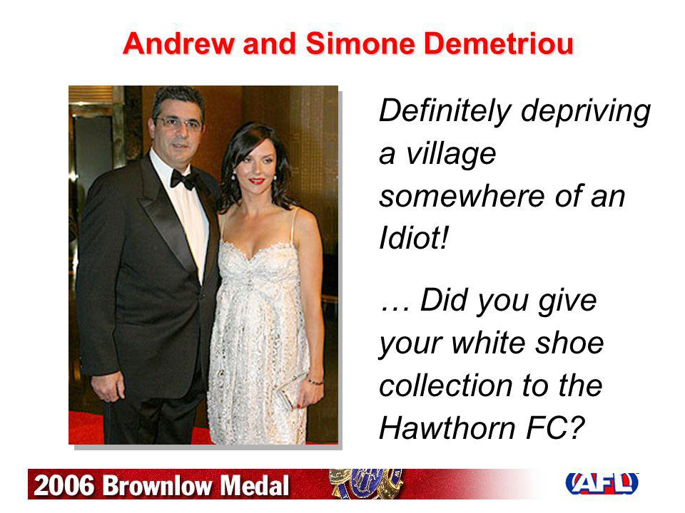 Andrew and Simone Demetriou