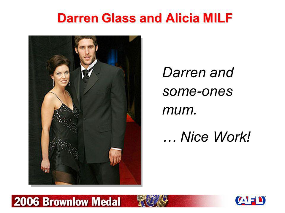 Darren Glass and Alicia MlLF