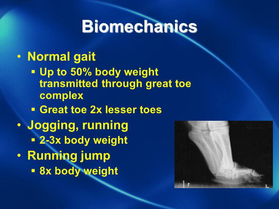 Biomechanics Normal gait Jogging, running Running jump
