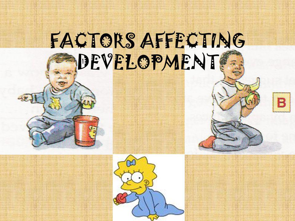 factors affecting the development of a child
