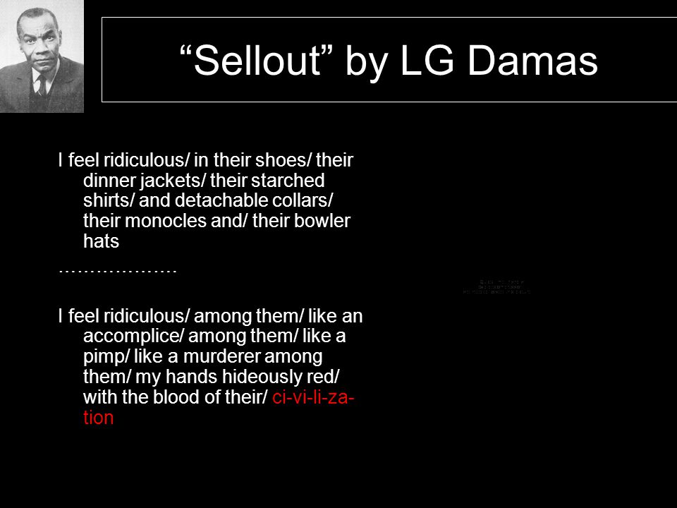 Sellout by LG Damas