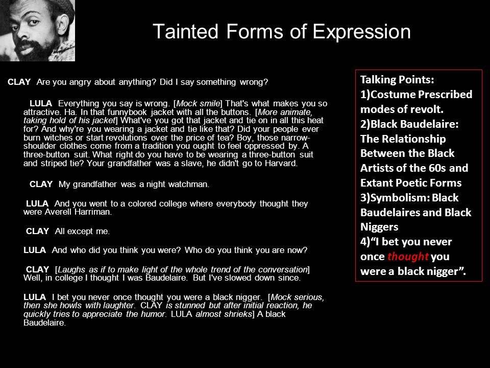 Tainted Forms of Expression