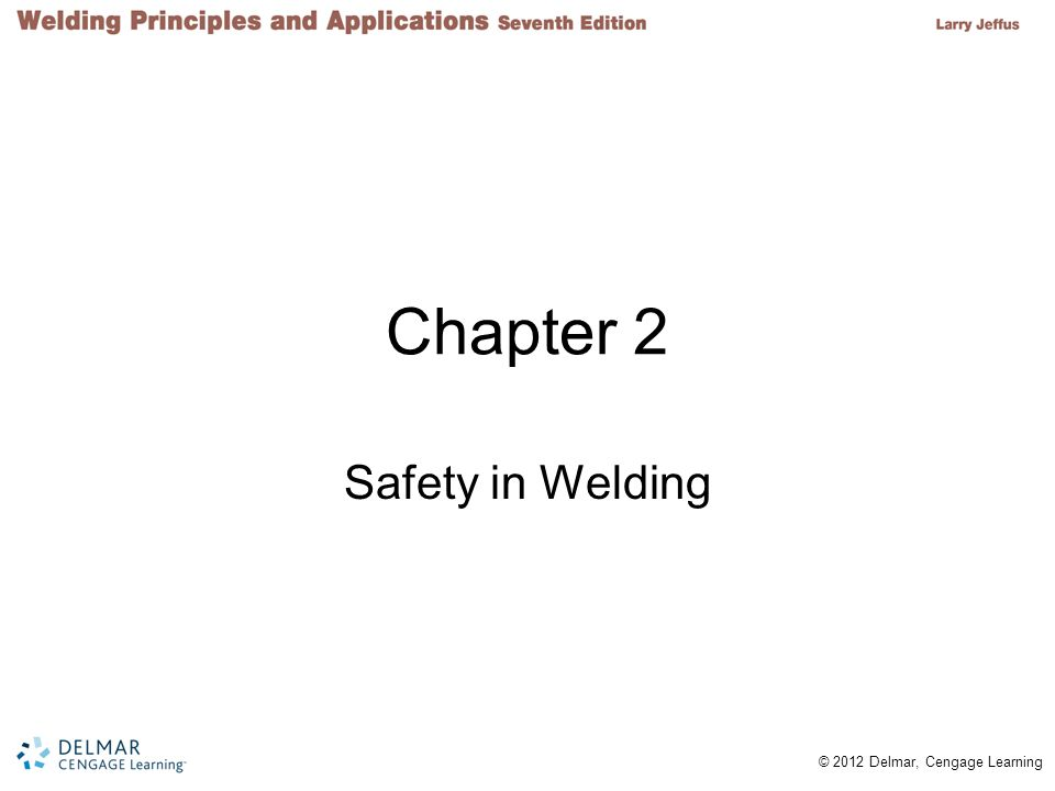 Chapter 2 Safety in Welding