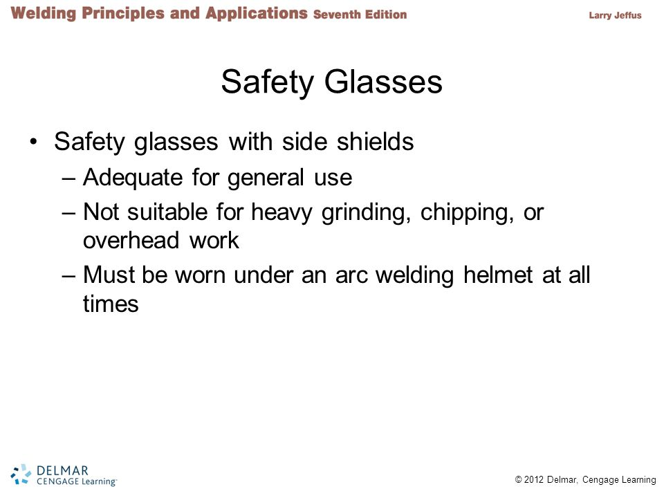 Safety Glasses Safety glasses with side shields