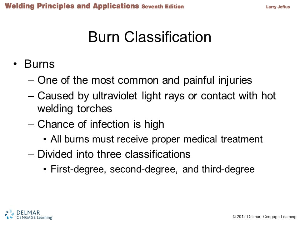 Burn Classification Burns One of the most common and painful injuries
