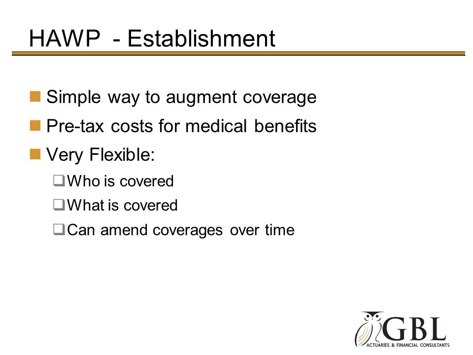 HAWP - Establishment Simple way to augment coverage