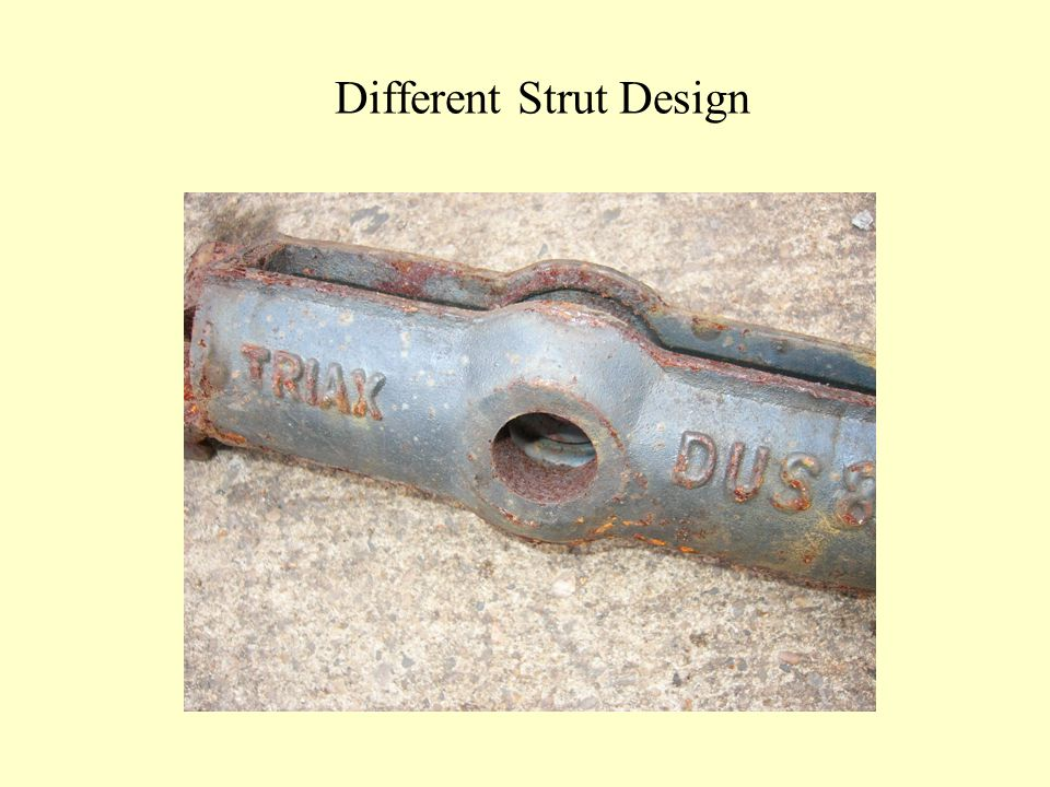 Different Strut Design
