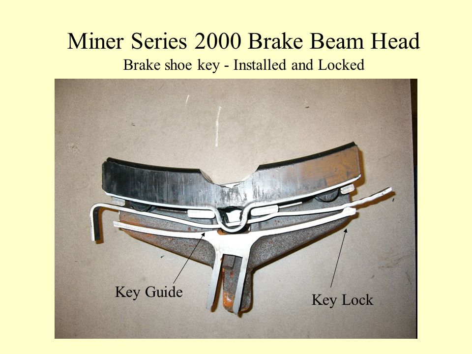 Miner Series 2000 Brake Beam Head