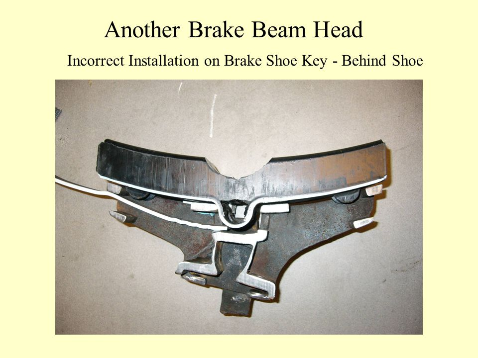 Another Brake Beam Head